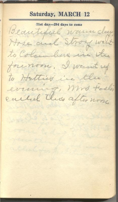 Roberta Hopkins' Diary 1927 (p. 77)
