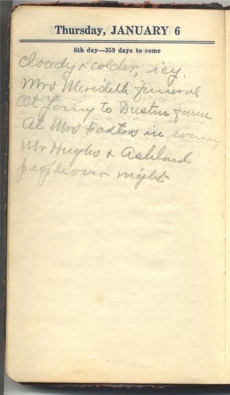 Roberta Hopkins' Diary 1927 (p. 12)