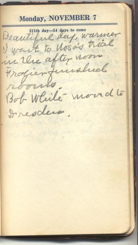 Roberta Hopkins' Diary 1927 (p. 317)