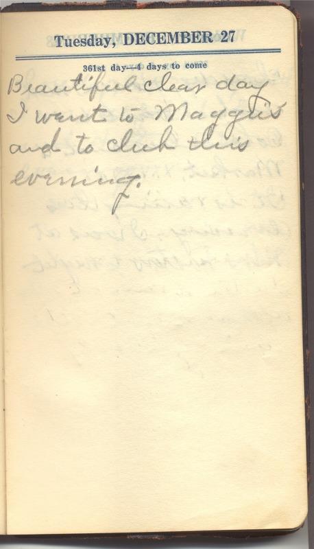 Roberta Hopkins' Diary 1927 (p. 367)