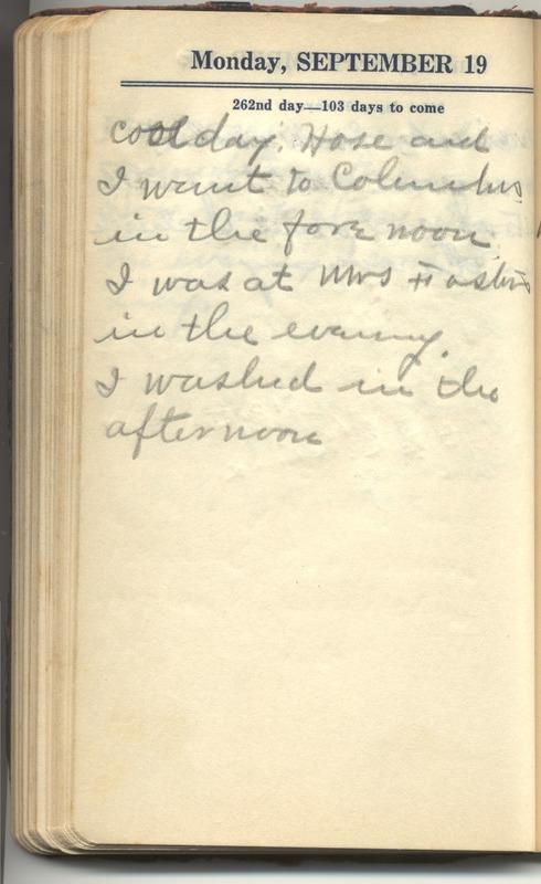 Roberta Hopkins' Diary 1927 (p. 268)