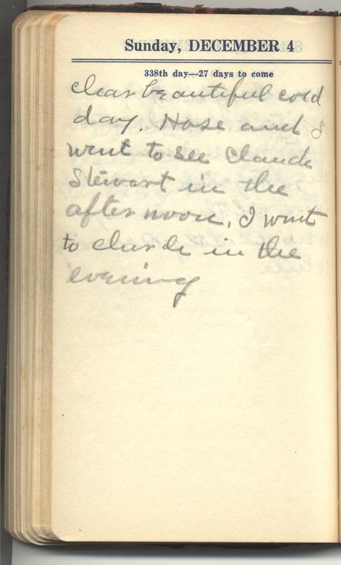 Roberta Hopkins' Diary 1927 (p. 344)