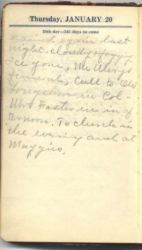 Roberta Hopkins' Diary 1927 (p. 26)