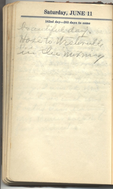 Roberta Hopkins' Diary 1927 (p. 168)