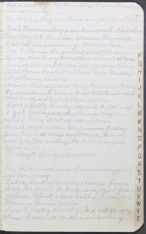Roberta Hopkins' Journal 1941-1943 (p. 5)