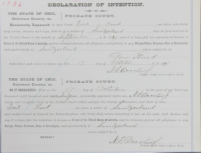 Naturalization Records Delaware County OH (p. 46)
