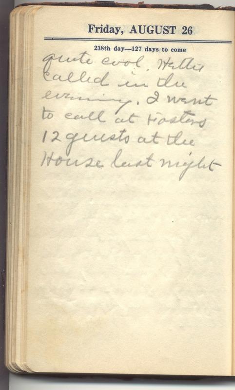 Roberta Hopkins' Diary 1927 (p. 240)