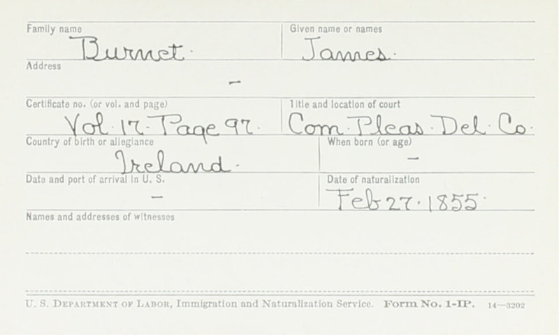 Naturalization Records Delaware County OH (p. 284)