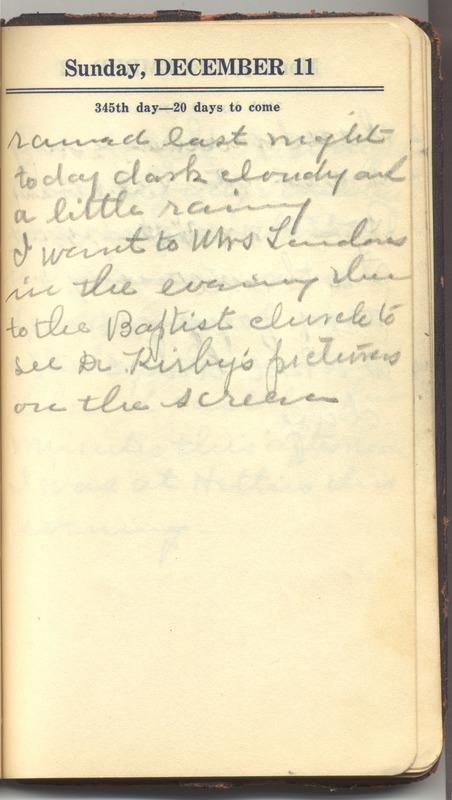 Roberta Hopkins' Diary 1927 (p. 351)