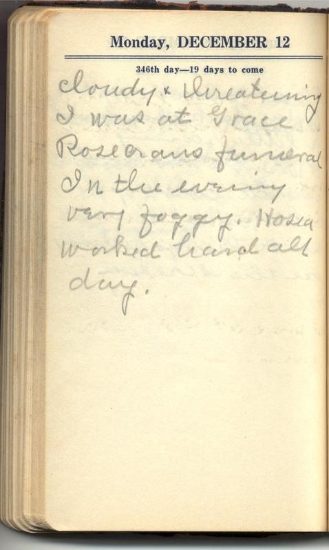 Roberta Hopkins' Diary 1927 (p. 352)
