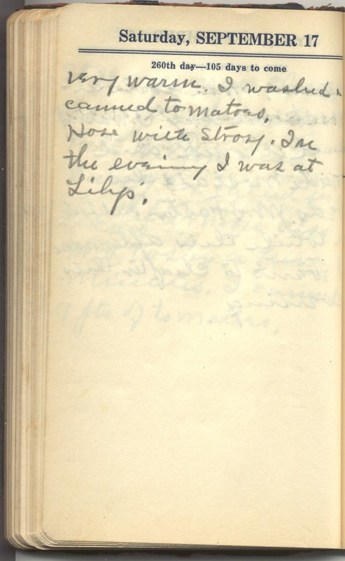 Roberta Hopkins' Diary 1927 (p. 266)