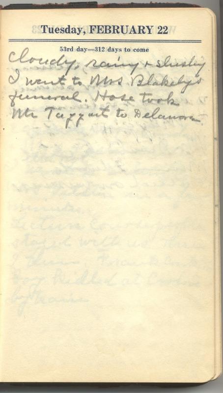 Roberta Hopkins' Diary 1927 (p. 59)