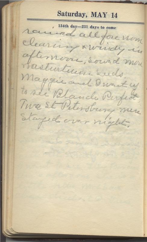 Roberta Hopkins' Diary 1927 (p. 140)