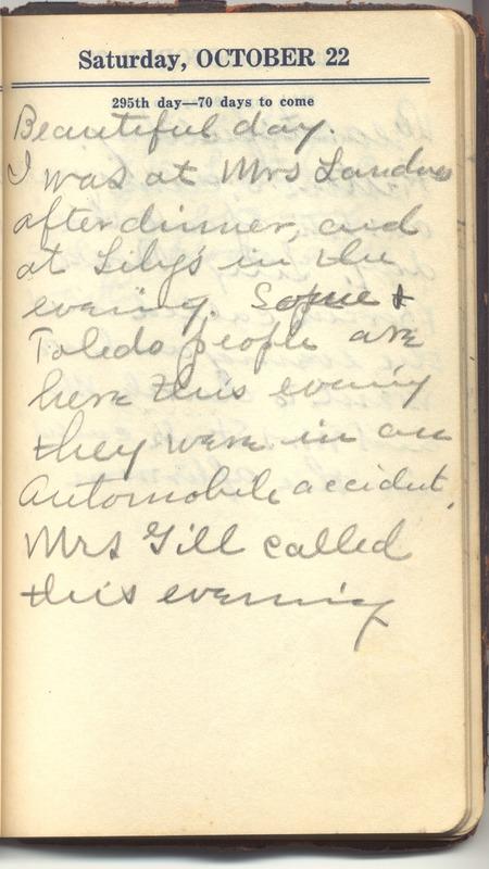 Roberta Hopkins' Diary 1927 (p. 301)