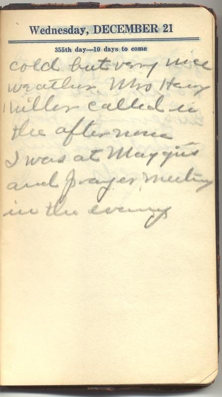 Roberta Hopkins' Diary 1927 (p. 361)