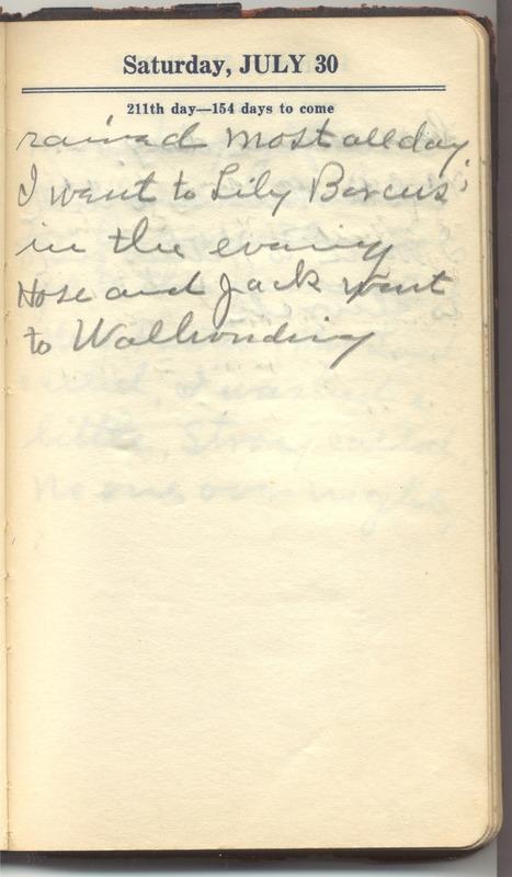 Roberta Hopkins' Diary 1927 (p. 217)
