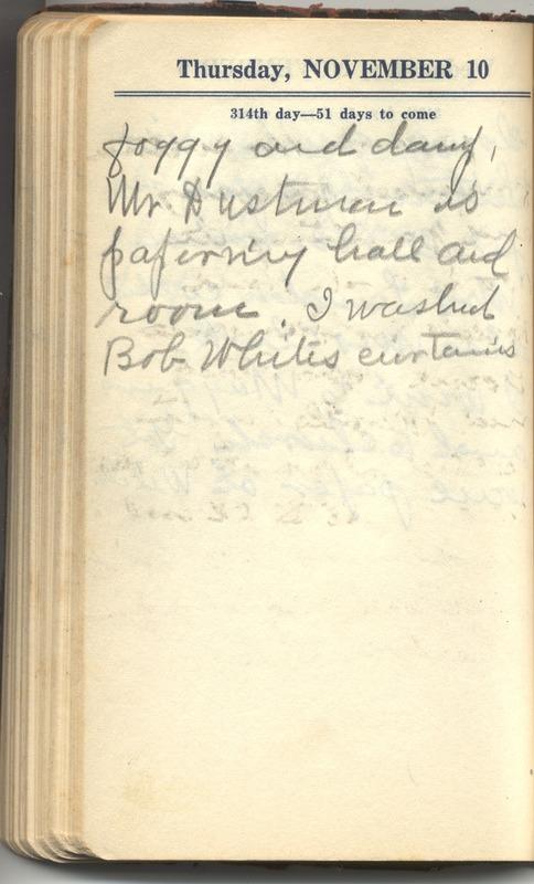 Roberta Hopkins' Diary 1927 (p. 320)