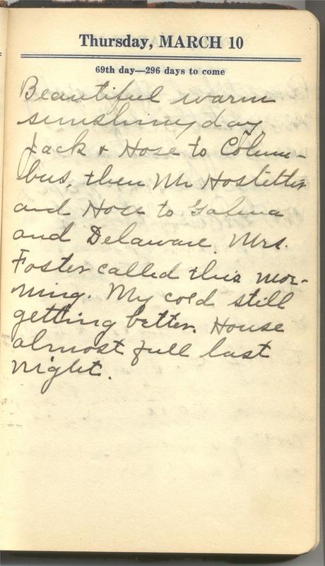 Roberta Hopkins' Diary 1927 (p. 75)
