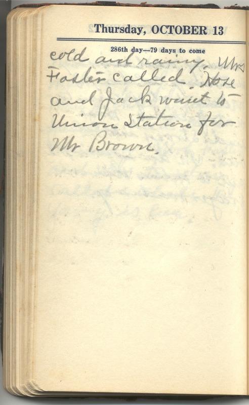 Roberta Hopkins' Diary 1927 (p. 292)