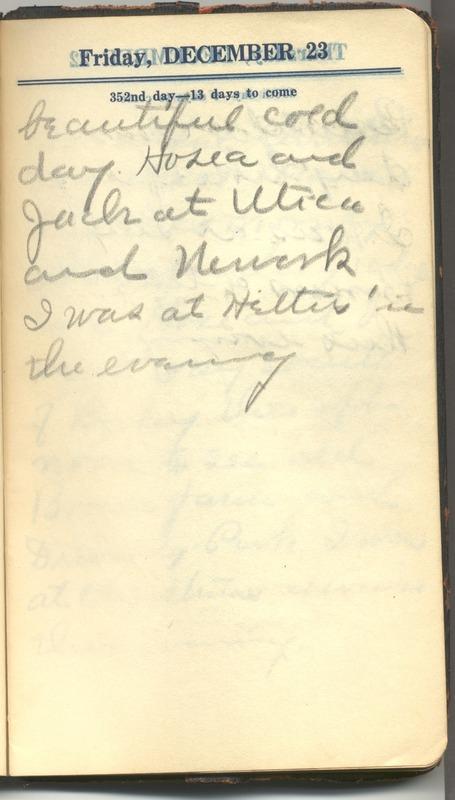 Roberta Hopkins' Diary 1927 (p. 363)