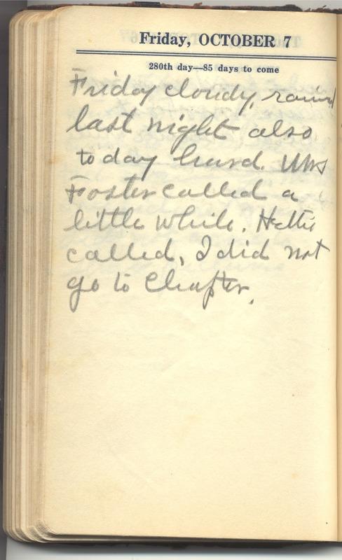 Roberta Hopkins' Diary 1927 (p. 286)