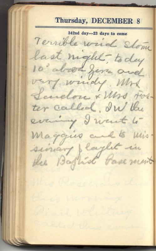 Roberta Hopkins' Diary 1927 (p. 348)