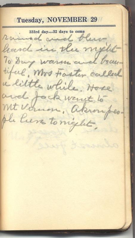 Roberta Hopkins' Diary 1927 (p. 339)