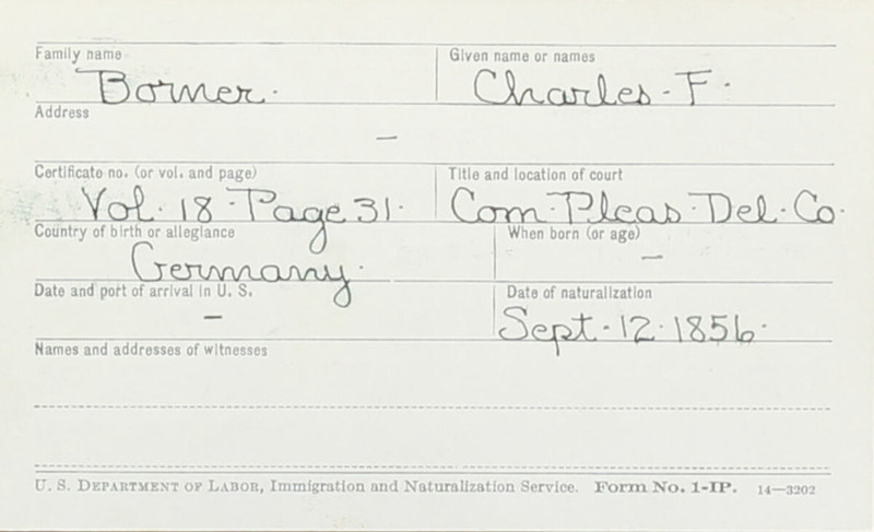 Naturalization Records Delaware County OH (p. 218)