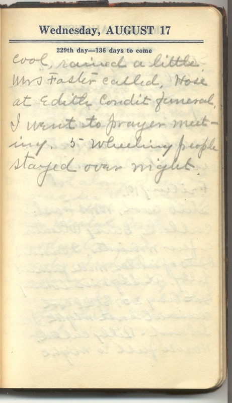 Roberta Hopkins' Diary 1927 (p. 235)