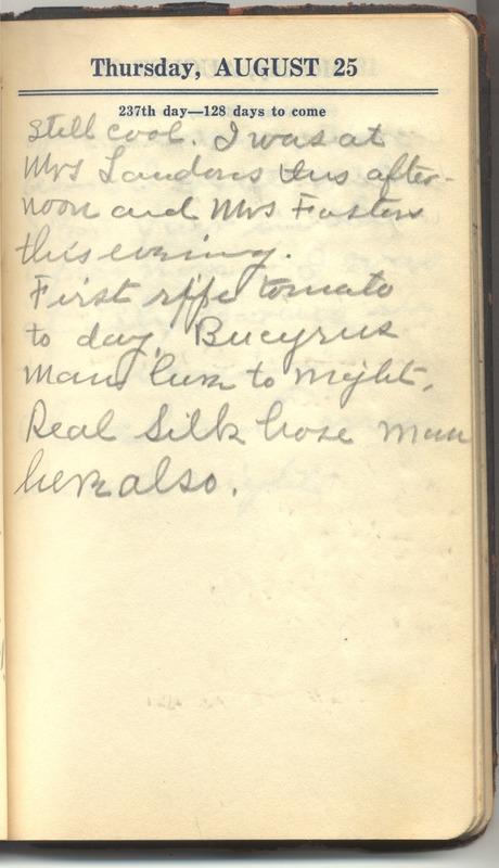 Roberta Hopkins' Diary 1927 (p. 243)