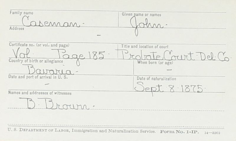 Naturalization Records Delaware County OH (p. 334)