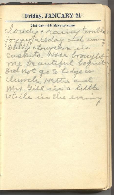 Roberta Hopkins' Diary 1927 (p. 27)