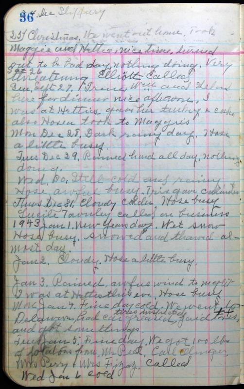 Roberta Hopkins' Journal 1941-1943 (p. 50)
