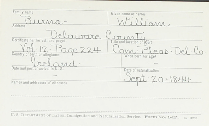 Naturalization Records Delaware County OH (p. 283)