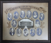 Radnor High School Senior Class Picture 1927