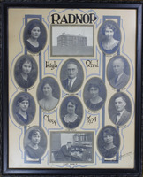 Radnor High School Senior Class Picture 1924