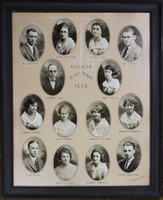 Radnor High School Senior Class Picture 1923