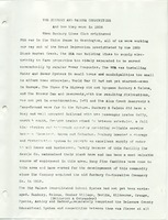 The Sunbury and Galena Communities and how they were in 1938 when Sunbury Lions Club Originated