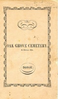Rules and Regulations and Articles of Association of Oak Grove Cemetery